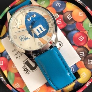 Blue M&M Watch collectible